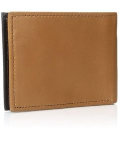 Buy Men's Clean Rfid Slim Zf - Tan - and Get More Latest Men's Wallets Enjoy Up to off. Leather Money Clip Wallet, Leather Wallet, Black Italians, Luxury Handbags, Men's Bags, Slim, Mens Fashion, Wallets, Purse