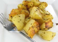Roasted Herb Potatoes with Parmesan Cheese Recipe