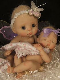 Baby Tutorial Instructions on how to make full sculpt OOAK polymer clay baby art dolls by Rasbubby Hill