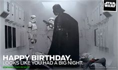 18 Best Star Wars Birthday Greetings Images Star Wars Birthday