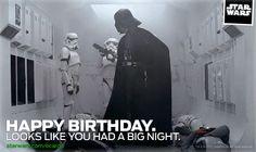 Big Birthday Night - Star Wars eCards   StarWars.com