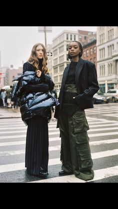 "Pleasures remain, so does the pain ""Girls About Town"" Jay Wright & Olivia Anakwe photographed by Emon Toufanian for V Magazine Online Makeup: Kento Utsubo<br> Juun J, V Magazine, Magazine Online, Instagram 4, Models Off Duty, Street Style Looks, Canada Goose Jackets, Editorial Fashion, Fashion Photography"