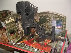 GHOST CASTLE - Board Game 1980s - Loved this game!