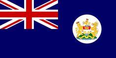 Flag of Hong Kong 1959