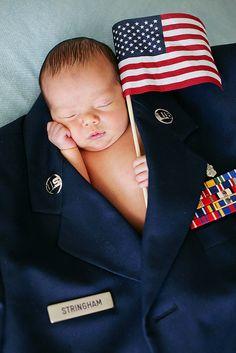 Newborn Photography for @Kat Ellis Pennington ~ lab coat and stethoscope