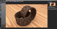 Cinema 4D Tutorial - Leather Bracelet
