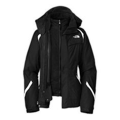 The North Face Women's Jackets & Vests Skiing/Snowboarding WOMENS KIRA TRICLIMATE® JACKET
