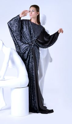 Buy your favorites abayas on Haute Arabia! Loving this piece? You can buy it here! http://www.hautearabia.com/products/telly-abaya-xii
