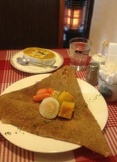 2014.1.22. Soba-Galette:Chicken&pumpkin stew with boiled vegetables (SOBA Cafe. SARRASIN)