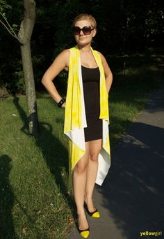 yellowgirl.at diy sommer cape