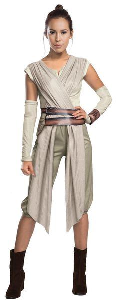 Star Wars Episode 7 - Womens Deluxe Rey Costume from Buycostumes.com                                                                                                                                                                                 More