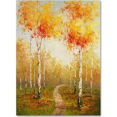 Trademark Fine Art On the Way to Aspen Canvas Art by Rio, Size: 18 x 24, Multicolor