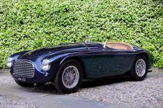 laragosta:Gianni Agnelli's Ferrari 166 MM at Villa D'Este.