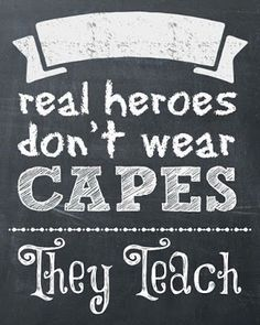 Do you want to celebrate the teachers at your school for teacher appreciation week? We recently discovered a fun way to celebrate your teachers super powers in her classroom. Here's who… Teachers truly are our modern day superheros. Day in and day out they show up before the sun rises to prepare for the day. …