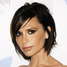 Victoria Beckham's grown out pixie into a layered shag! I hear she didn't cut her hair once while she was growing out her short 'do. No idea how she could possibly stand it... I can't go more than 6 weeks!