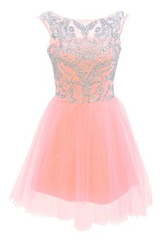 Short Blue Prom Evening Prom Dresses: Clothing
