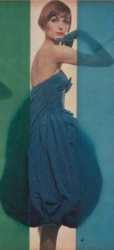 #4- Erwin Blumenfeld (1897-1969), 1958, Vogue US.