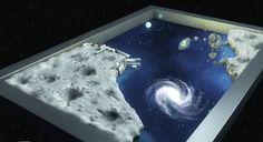 """CARPETO : """"Odyssée spatiale"""" - Illustration 180x120 cm, réalisée par Vincent Subréchicot - #tapis de jeux"""