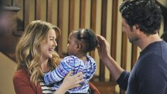 Loved the end of this episode of Grey's Anatomy. Zola is so cute!