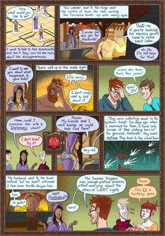 Dungeon Diaries :: The Blacksmith | Tapastic Comics - image 1