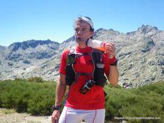 Hidratación deportiva Cantio durante ruta trail 6h en Circo Gredos