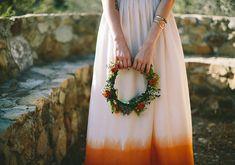 Ombre wedding dress | photos by Jenny Markham | 100 Layer Cake