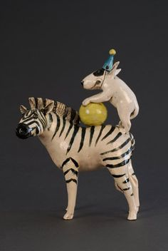 Ceramics by Marie Prett at Studiopottery.co.uk -  Sometimes you just need something silly to make you smile, this did it for me.