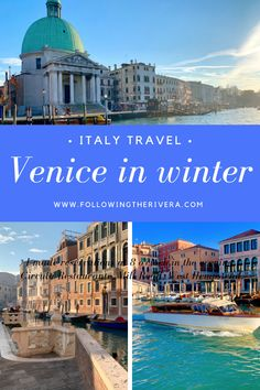 Venice in winter. Traveling to Venice in winter is a calmer yet enjoyable affair. Enjoy seasonal eats and stay at top boutique hotels for a lower price Italy Travel Tips, Travel Destinations, Travel Europe, Winter Destinations, Travel Usa, Backpacking Europe, European Destination, European Travel, European Vacation
