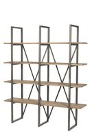 The Kenya Cain Large Rack - Watered Grey/ Steel from LH Imports is a unique home decor item. LH Imports Site carries a variety of Shelving & Storage and other Furniture furnishings. Unique Home Decor, Home Decor Items, Structure Metal, Storage Shelves, Kenya, Decorative Items, Bookcase, Steel, Grey