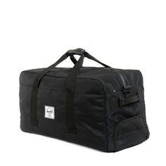 Herschel Supply Outfitter Travel Duffel Bag - Black
