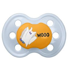ghost dramatic dragon Halloween baby pacifier