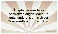 Wozu die Schminke sonst noch diente: http://www.unnuetzes.com/wissen/7410/agypter-make-up/