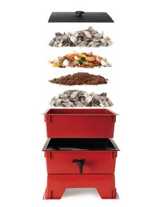 """Been thinking about composting? It can make or break your garden. Compost is decomposed organic matter that helps soil hold water, controls erosion, protects plants against disease, lures soil-enriching earthworms, and ferries minerals from the subsoil. Here, we break down the seven-step process on how to get started from the """"Martha Stewart's Homekeeping Handbook."""""""