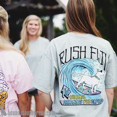 Fiji Tee | #LoveTheLab houndstoothpress.com | Fraternity and Sorority  Shirts…