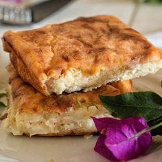 Πεντανόστιμη τυρόπιτα χωρίς φύλλα - Just life Sandwiches, Food, Essen, Meals, Paninis, Yemek, Eten