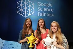 Three Girls Won The Google Science Fair With A Bacteria-Based Plan To Solve The Food Crisis  Read more: http://www.businessinsider.com/google-science-fair-winners-crop-bacteria-2014-9#ixzz3EIxfJgPA
