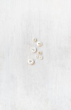 White Buttons by Rikki Snyder - rikkims