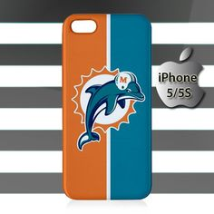Miami Dolphins Logo iPhone 5 5s Case Cover Hardshell