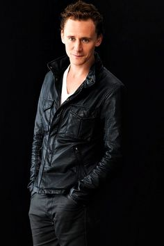 Hiddles- Tom Hiddleston in his leather jacket