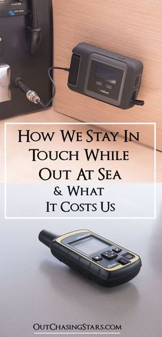 A detailed breakdown of what it costs to communicate with the world while out at sea. We use a tracker, a sat phone, and VHF. OutChasingStars.com