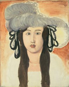 """"""" The Plumed Hat, 1918, by Henri Matisse """""""