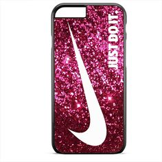 Just Do It Sparkle Glitter Pink TATUM-6021 Apple Phonecase Cover For Iphone SE Case