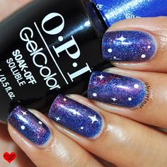 OPI GelColor Galaxy Nails