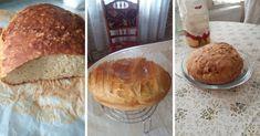 pofonegyszeru-szodabikarbonas-kenyer-eleszto-nelkul Izu, Bread, Food, Yogurt, Brot, Essen, Baking, Meals, Breads