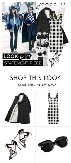 """""""Street style"""" by polyandrea ❤ liked on Polyvore featuring H&M, Theory, Agent Provocateur, Nicholas Kirkwood, Oliver Peoples and Michael Kors"""