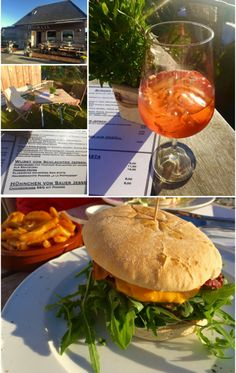 IVO & CO auf Sylt - Wenningstedt North Sea, Restaurant, Happy Holidays, Places To See, Alcoholic Drinks, Road Trip, Island, Burger, Food