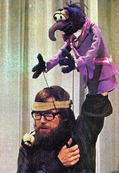 45 Awesome Behind-the-Scenes Photos of Muppets and Muppeteers