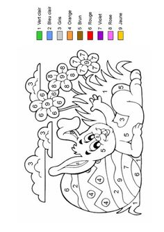 Home Decorating Style 2020 for Coloriage Magique Paques, you can see Coloriage Magique Paques and more pictures for Home Interior Designing 2020 at Coloriage Kids. Easter Coloring Pages, Coloring Book Pages, Coloring For Kids, Easter Arts And Crafts, Spring Crafts, French Colors, Color By Numbers, Easter Printables, Easter Colors