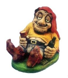 NAUGHTY TOMMY TIPPLE A *MERRY* BOOZING GNOME