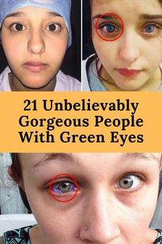 21 Unbelievably Gorgeous People With Green Eyes Gross Facts, Weird Facts, Fun Facts, Makeup Eye Looks, Bridal Makeup Looks, Eye Makeup, People With Green Eyes, Red Acrylic Nails, Black Horses